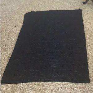 Dark Blue Blanket